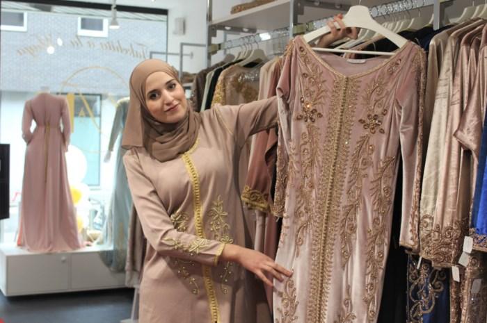 """Boetiek Takchita à la Maya opent op Tervuursesteenweg: """"Voor een Marokkaanse jurk hoef je niet langer naar Brussel of Antwerpen"""""""