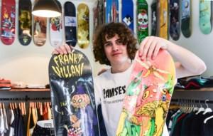 "15-jarige skater opent winkel met testramp: ""BoltDa is enkel open na school"""
