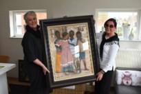 Kunstenares schenkt schilderij aan Tansila-project Burkina Faso