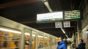 """Het loopt vlot in Brussel: """"Gemiddeld passeert er om de vier tot vijf minuten een tram of metro"""""""