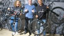 Triatleten laten fietsen afstellen door Andy Leten