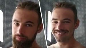 Victor Campenaerts laat niets aan het toeval over voor tijdrit en ruilt (lange) baard in voor snor