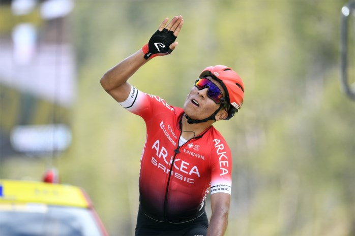 Nairo Quintana won zaterdag nog Parijs-Nice maar moet nu twee weken in quarantaine
