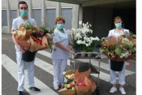 Verdiende bloemekee voor ons zorgpersoneel