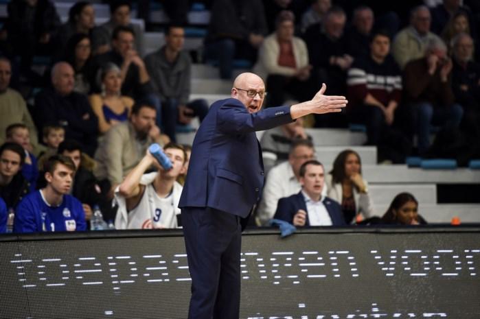 Paul Vervaeck blijft coach bij Kangoeroes Mechelen