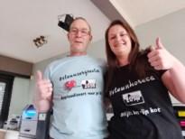 Harry en Lenny verkopen T-shirts om zorgsector en horeca te steunen
