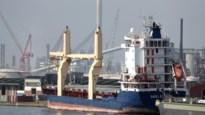 Rampschip Basel Express ligt al een jaar in de Antwerpse haven