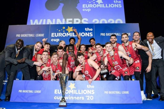 Telenet Giants Antwerp opent begin oktober EuroMillions League