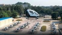 Autonoom vliegende taxi om files te vermijden of voor sightseeing