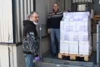 50.000 paar handschoenen en schorten voor UZA na oproep Mortsel TV