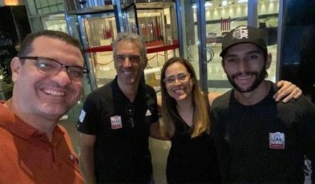 Fernando Gaviria mag na maand quarantaine in Abu Dhabi eindelijk naar huis