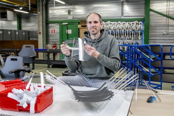Antwerpse bedrijven bundelen krachten en maken gratis duizenden spatmaskers