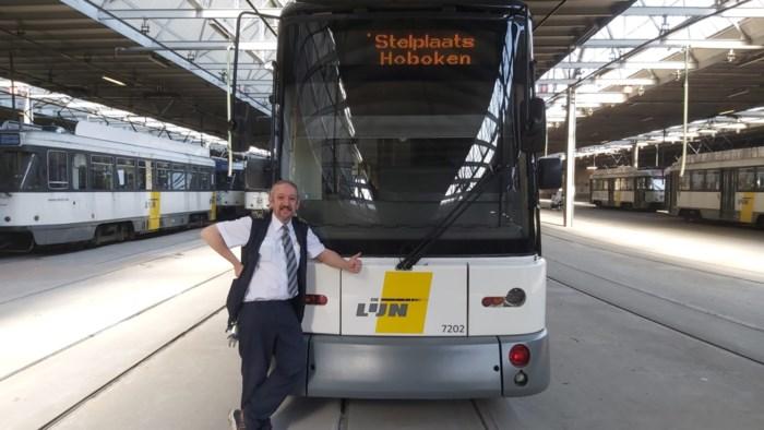 """Trotse trambestuurder Jan Gillis (54) blijft werken in tijden van corona: """"Wie nu de tram neemt, heeft hem echt nodig"""""""