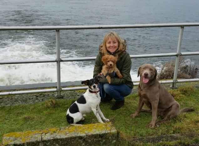 """Hondentherapeute: """"Veel problemen zijn te wijten aan gebrek aan beweging. Dat valt nu helemaal weg"""""""