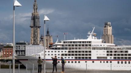 Zeker tot 30 april geen cruiseschepen aan de Antwerpse kade, dat is ook slecht nieuws voor stadskas