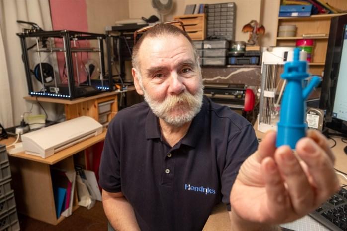 Mortselaar 3D-print vrijwillig onderdelen voor beademingstoestellen in Spanje