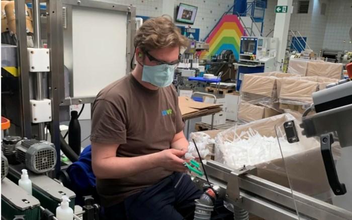 Ecover Malle bouwt productie om en gaat desinfectiemiddel maken