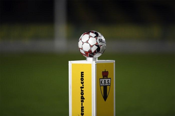 Geen amateurvoetbal meer in België