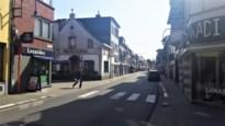 Ondertussen op de Mechelsesteenweg in Kontich: handelaars houden de moed erin