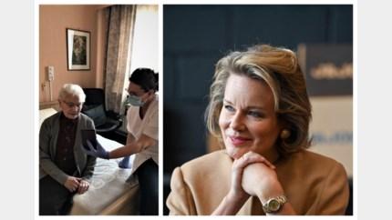 """Thuisverpleegkundige krijgt koningin Mathilde aan de lijn: """"Warme woorden van steun"""""""