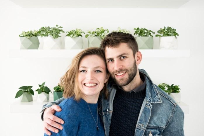 """Jong paar opent eerste designwinkel: """"Voor elk verkocht product planten we minstens één boom"""""""