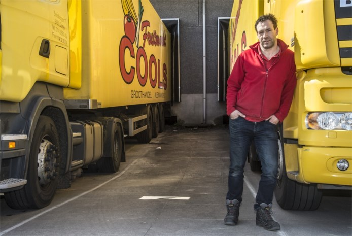 Werken in tijden van corona: Tim Bouve uit Dessel rijdt nog dagelijks rond met verse groenten en fruit