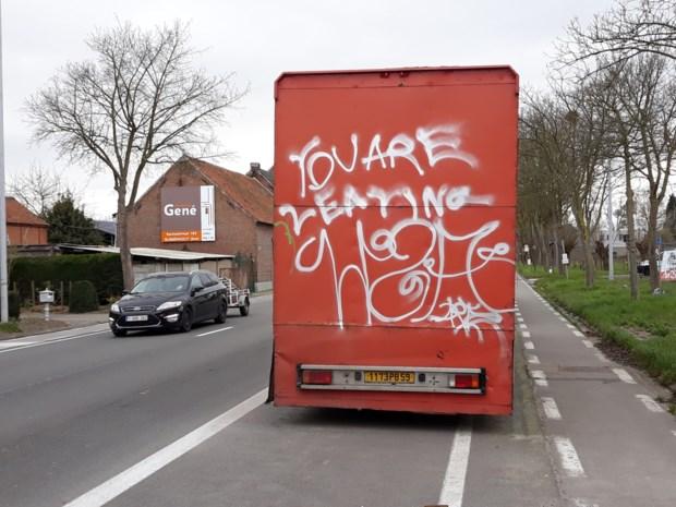 Politie begint onderzoek naar graffitivandaal die al maanden actief is