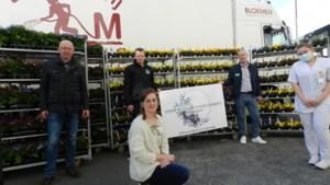 Flower Boost Challenge: Spranco-Matic schenkt bloemen aan ziekenhuispersoneel