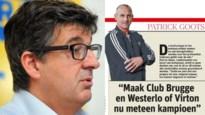 Directeur van Westerlo opgezet met pleidooi van Patrick Goots (maar hij ziet nog veel obstakels)