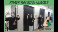 Video 'ellebooggroet' van verpleegkundigen UZA al meer dan 210.000 bekeken
