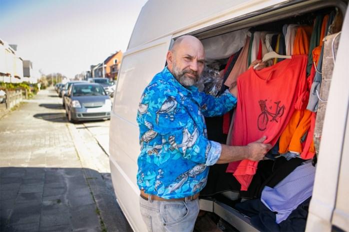 Marktkramer, zanger en theaterregisseur: Frank is drie keer getroffen door coronamaatregelen