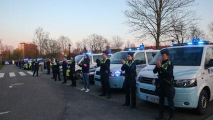 Antwerpse politie toont zich opnieuw op indrukwekkende wijze solidair met zorgverleners