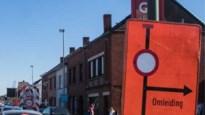 Geen verkeer richting Lier in Statiestraat in paasvakantie