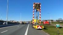 Verkeer op E19 aan grensovergang wordt gescheiden om ongevallen tegen te gaan