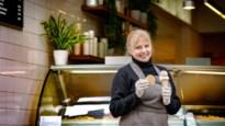 """Pascale Gauthier schept opnieuw ijsjes: """"Ik was bang, maar het begon te kriebelen"""""""