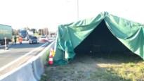 """Politie bewaakt grens op E19 vanuit oude tent: """"We lijken wel re-enactors van WO II"""""""