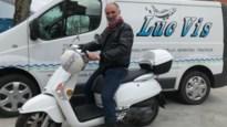 Luc Vis levert noodgedwongen aan huis met 'coronassortiment'