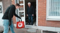 Antwerp bezorgt oudste abonnees pakket aan de deur
