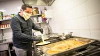 Chef-kok De Groote Witte Arend werkt in enige zaak die nog open is