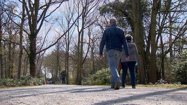 Zo was het zaterdag in de Antwerpse parken: deze keer geen overrompeling