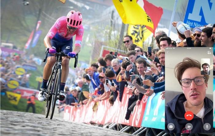 """Alberto Bettiol staat scherp voor virtuele Ronde van Vlaanderen: """"Evenepoel? Dat hij eerst iets groots wint"""""""