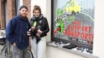 Werken in tijden van corona: Tatoeëerders Yannick Van Ginneken en Melni Sikorski brengen kleur en humor in straatbeeld