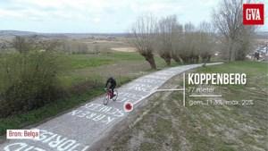 Geen helden op de fiets vandaag, wel een ode aan alle helden uit de zorg op het parcours van de Ronde