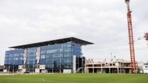 Antwerp FC hervat werken aan tribune 4