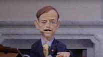 Bart De Wever-handpop maakt reclame voor digitale schoolvoorstellingen Theater Froe Froe