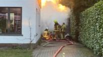 Veel schade aan vrijstaande garage door brand in Schilde