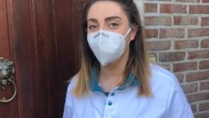 """Aline verleent thuis quarantainezorg: """"Het is belangrijk dat ook de was wordt gescheiden"""""""
