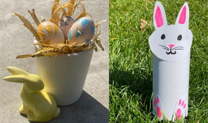 Simpele DIY-knutseltips met overschotjes, net op tijd voor Pasen