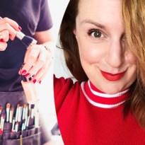 Visagiste Sabine Peeters leert je opmaken vanuit haar kot