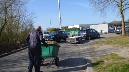 Recyclagepark weer open: systeem van nummerplaten werkt perfect